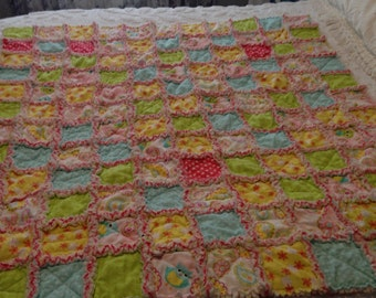 Snuggly Baby Girl Quilt