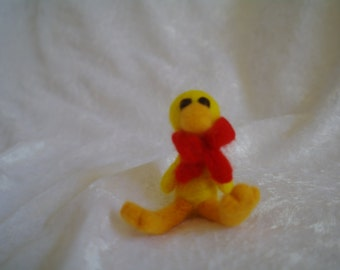 Handmade needle felted Duck