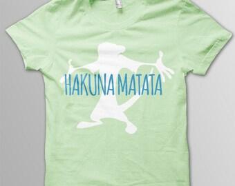 Disney shirt adult Hakuna Matata shirt adult Disney t-shirt