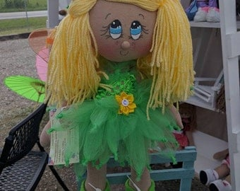Angelica  cloth doll