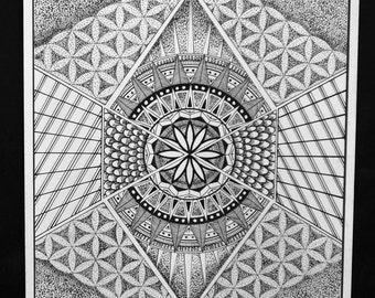 Flower of life Mandala