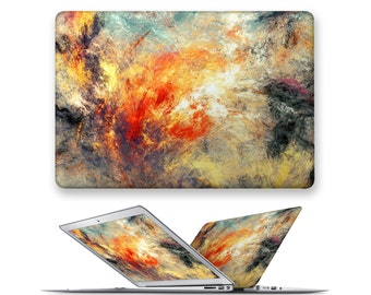macbook pro hard case rubberized front hard cover for apple mac macbook air pro touch bar 11 12 13 15 abstract pattern