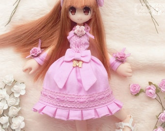 Pink Dress Set for Azone Picconeemo D 1/12 size