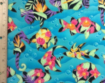 Hi Fashion Fabrics   Bright Fish