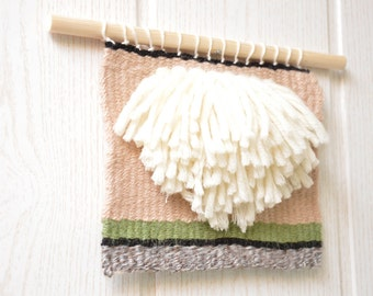 hand-woven tapestry / woven Wallhanging / hand-woven tapestry