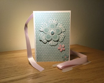 Handmade Cards - All Occasions - Floral Design - A028