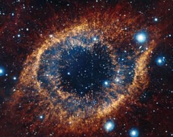 Helix Nebula Poster 24x36 Hubble Telescope Image Space Astrology Nasa Rare Hot New