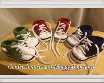 Slipper style converse 0-12 months