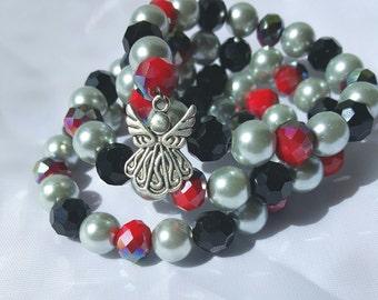 Wrap Bracelet, Bracelets For Women, Silver Charms, Bracelets, Guardian Angel