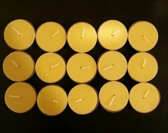 Beeswax Tealights | 15 pack - Free Shipping