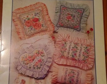 Bouquet of Pillows Cross Stitch Patterns
