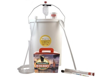 40 Pint (5 Gallon) Homebrew Beer Making Starter Kit - Woodfordes Wherry Bitter, Home brew Microbrewery