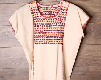 Mexican Embroidery Blouse