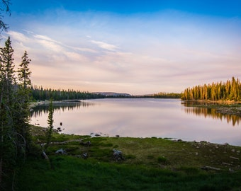 Lost Lake Utah Photo Art Print