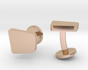 Abstract Square Cufflinks | Wedding Geek & Gaming Cuff links | Available as Sets