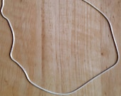 1 mm Sterling Silver chain 18 in. length