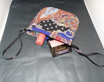 Drawstring bag - paisley