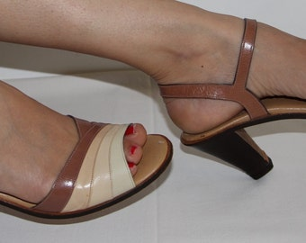 Vintage ankle strap