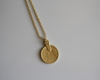 Goldplated chain • COIN
