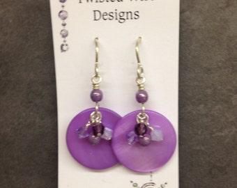 Purple Delight Earrings