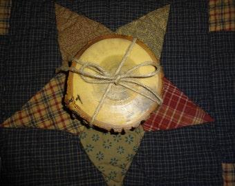 Poplar Wood Coaster
