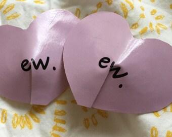 Ew Heart Pasties