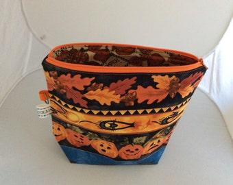 Pumpkin Halloween project/tote bag (small)