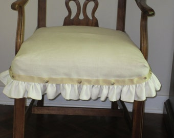 French Linen Chair Covers