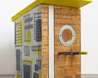 Midcentury Modern Birdhouse Model #10