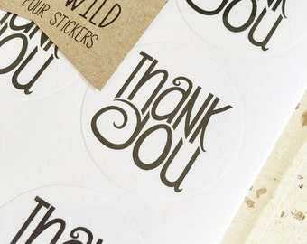 Thank You Stickers Pk24