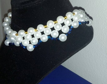SK2527 pearl choker necklace