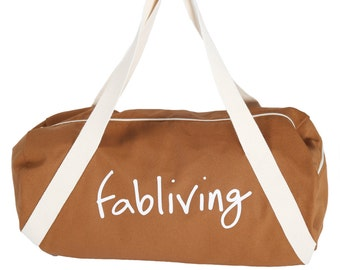 FABULOUS PEOPLE Fabliving Weekender Bag (Camel/Natural)