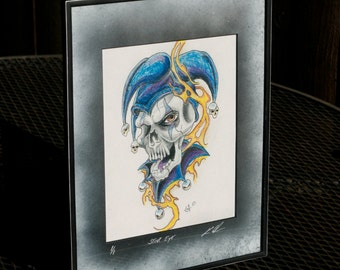 Stink Eye Limited Edition Framed Artwork
