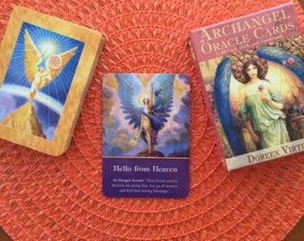 Archangel Oracle Card Reading