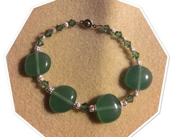 Green Bracelet-20%off use coupon code MERRY20