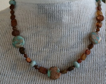 Natural tone Necklace