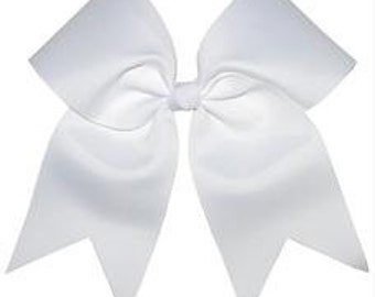 Cheer Tryout Hair Bow