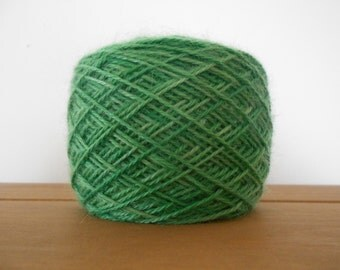 Hand-Dyed 100% Pure Double Knitting Lambswool and Mohair Yarn.