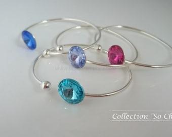 """So Chic"" bracelet - Turquoise ""Aquamarine"""