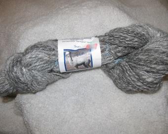Hand-spun 100% Alpaca Yarn- from our own Alpaca!