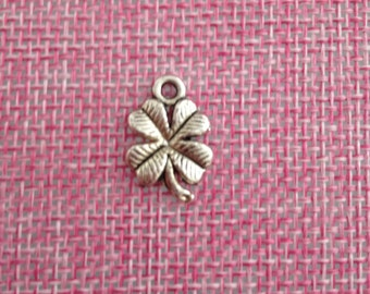four-leaf clover charm