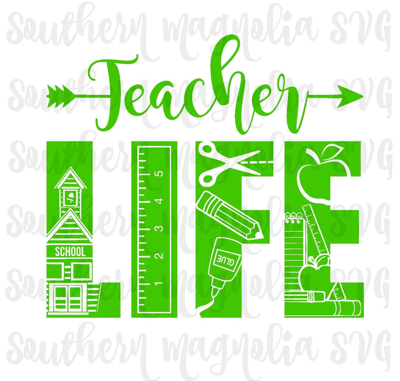 Teacher svg files | Etsy