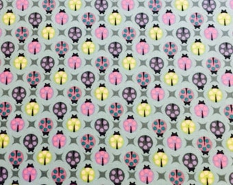 Lady bug 100% cotton 112cm wide