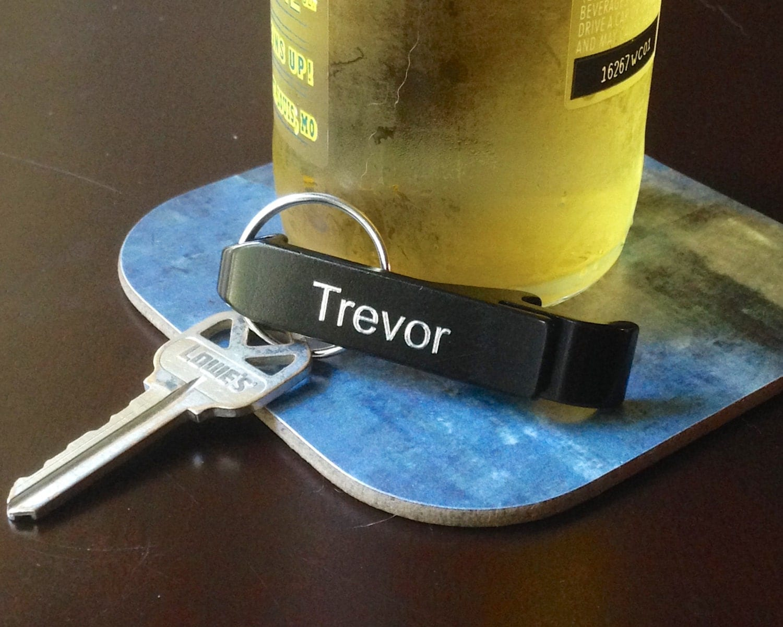 personalized keychain bottle opener custom engraved bottle. Black Bedroom Furniture Sets. Home Design Ideas