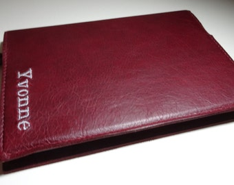 Personalised Genuine Leather Notebook Leather-on-the-high-street  refillable LOTHS UK