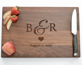 Personalized Cutting Board, Wood Cutting Board, Engraved Board, Personalized Board, Laser Engraved, Engraved Gifts, Unique Gifts, Kitchen