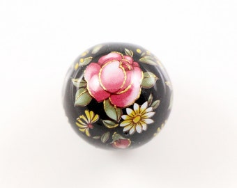 LAST 2 pcs  Japanise TENSHA beads 20 mm  large round