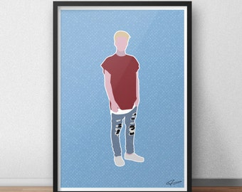 Justin Bieber INSPIRED Print / Poster