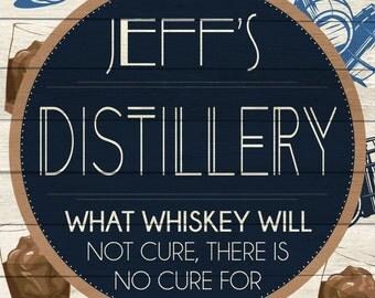 Custom Distillery Sign Digital Download
