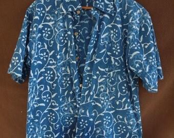 Women's Cotton Batik Shirt